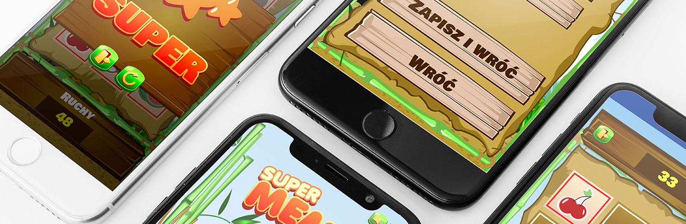 Autorska gra mobilna Akanzy